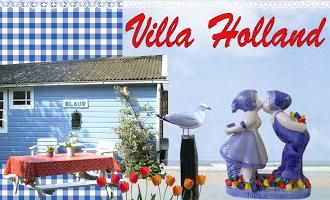 Villa Holland – vakantiehuisjes aan zee