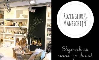 Nieuwe webwinkel: Rozengeur & Maneschijn