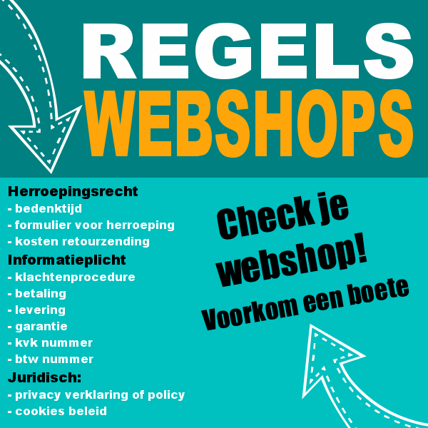 Webshops en wettelijke regels