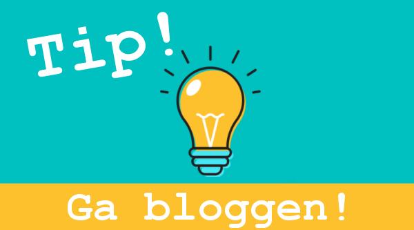 Webwinkel tip ga bloggen