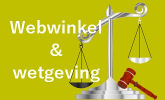 eigen webshop en wet