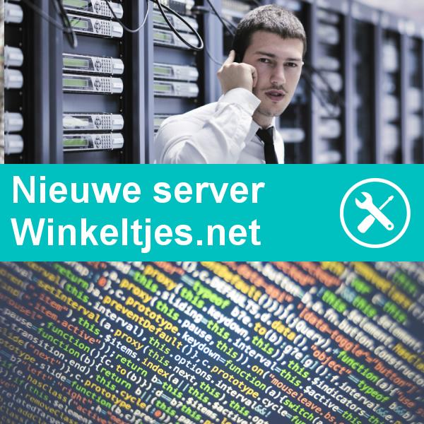 Nieuwe server geplaatst voor webwinkels