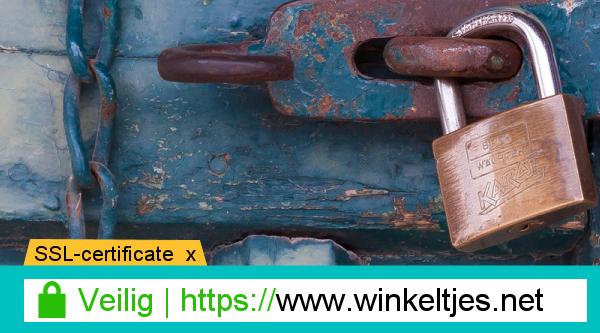 Veilige verbindingen via SSL/HTTPS